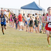 Don Knight/The Herald Bulletin<br /> Frankton's Dyland Diane sprints to the finish during the Arabian Round-Up on Wednesday. Diane finished 17th and the Eagles finished 9th as a team.