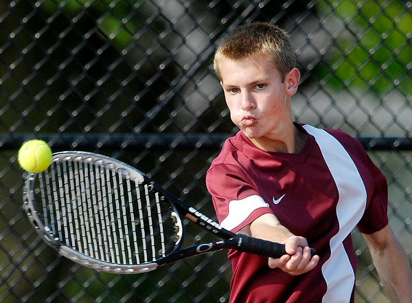 John P. Cleary | The Herald Bulletin<br /> MC tennis tourney championship: Lapel vs Alexandria.