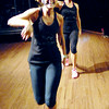 "John P. Cleary | The Herald Bulletin<br /> Natalie Farmer and Hillary Novak are the ""Fitness Sisters"" teaching Zumba."