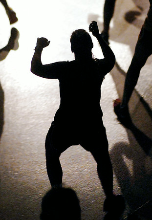 John P. Cleary | The Herald Bulletin<br /> Zumba class at Madison Park Church of God.