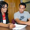 Stu Hirsch | The Herald Bulletin  <br /> Express enrollment at Ivy Tech.