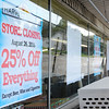 Don Knight | The Herald Bulletin<br /> A sign informs customers that Harvest Supermarkets has decided to close its Cross Street store at the end of business Aug. 26.