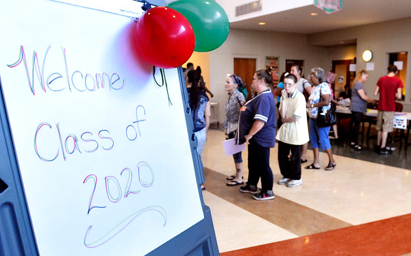 John P. Cleary   The Herald Bulletin<br /> Anderson High School welcomed the class of 2020 for freshman orientation this past Monday.