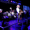 Don Knight | The Herald Bulletin<br /> Asleep at the Wheel performs a free concert at Hoosier Park on Saturday as part of the Dan Patch Festival Weekend. The concert was moved inside due to rain.