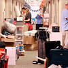 John P. Cleary | The Herald Bulletin<br /> The third floor hallway of Martin Hall at Anderson University is filled with items waiting to unpacked into the dorm rooms by new incoming freshman student residents on move-in day Thursday.