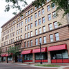 Don Knight | The Herald Bulletin<br /> The Union Building is included in a sealed bid auction set for Sept. 28. The six story office building first opened in 1902.
