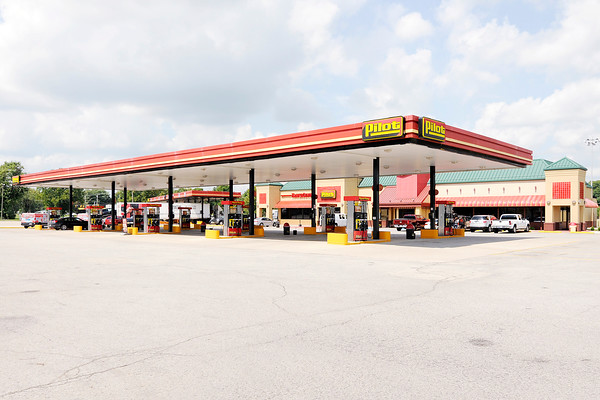 Don Knight | The Herald Bulletin A suspect attempted to rob four locations in Daleville and Anderson early Tuesday morning including the Pilot Travel Center at 15876 West Commerce Road.