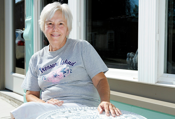 Don Knight | The Herald Bulletin<br /> Artist Joyce Minnick is opening an art gallery in Middletown. Minnick will host a grand opening reception 6 to 8 p.m. Friday