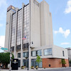 Don Knight | The Herald Bulletin<br /> First Merchants Tower is included in a sealed bid auction set for Sept. 28. The building opened in 1970 as First Savings and Loan and includes 90,860 square feet on nine floors.