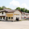 Don Knight | The Herald Bulletin<br /> A suspect attempted to rob four locations in Daleville and Anderson early Tuesday morning including the Chesterfield Travel Inn at 15701 West Commerce Road.