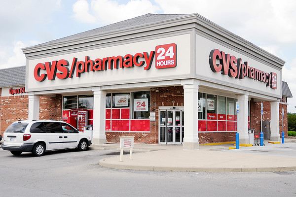 Don Knight | The Herald Bulletin A suspect attempted to rob four locations in Daleville and Anderson early Tuesday morning including the CVS at 265 South Scatterfield.