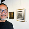 John P. Cleary |  The Herald Bulletin<br /> Artist Quang Vinh has his work on display at Pendleton Artist Society's Gallery 119 in Pendleton.