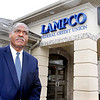 John P. Cleary |  The Herald Bulletin<br /> Lampco Credit Union President and CEO Willie Hendricks outside of Lampco's branch office at 1815 E. 53rd Street.