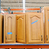 Don Knight | The Herald Bulletin<br /> Kitchen cabinets for sale at the Habitat for Humanity ReSale Store's new location in Chesterfield on Thursday.
