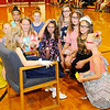 Don Knight | The Herald Bulletin<br /> Susie Clark's classmates give her a crown at Alexandria Intermediate School on Monday. The school held a Prince and Princess day for Clark.