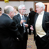 Don Knight | The Herald Bulletin<br /> Anderson Mayor Thomas Broderick Jr. talks to Sen. Tim Lanane and Roger Reed during the Mayor's Charity Ball at the Anderson Country Club on Saturday.