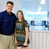 Don Knight | The Herald Bulletin<br /> Anderson calculus teacher Richard Ziuchovski and his daughter Abby at the high school on Thursday.