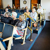 Don Knight | The Herald Bulletin<br /> Madison County Government Center employees turned out for an asbestos question and answer session on Wednesday.