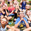 Don Knight | The Herald Bulletin<br /> Students at Lapel Elementary watch the solar eclipse on Monday. The next eclipse for Indiana will be in 2024.