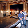 John P. Cleary |  The Herald Bulletin<br /> Branden Holder and Brent Doster want to renovate the State Theater and make it an entertainment center. The pair have recently founded Madison County Entertainment and signed a lease-to-own agreement for the theater.