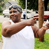 Don Knight | The Herald Bulletin<br /> Deloris Williams talks about her nephew Jeremy Boyd who was shot and killed on Friday. Family and friends gathered at Boyd's home on Saturday as they grieve their loss.