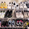Don Knight | The Herald Bulletin<br /> Along with a $25 gift card for new shoes kids can pick up a used pair giving them two pair for the school year.