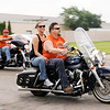 Don Knight | The Herald Bulletin<br /> Over 150 riders took part in the 13th annual Jessica & Lynsey Memorial Ride on Friday. The ride has raised over $207,000 for local charities and scholarship.