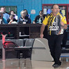 Don Knight | The Herald Bulletin<br /> John Marsala reacts while competing in the stepladder finals at the Dave Smalls Championship Lanes Classic Open on Tuesday. Marsala went on to win the PBA 50 event, the first of his career.