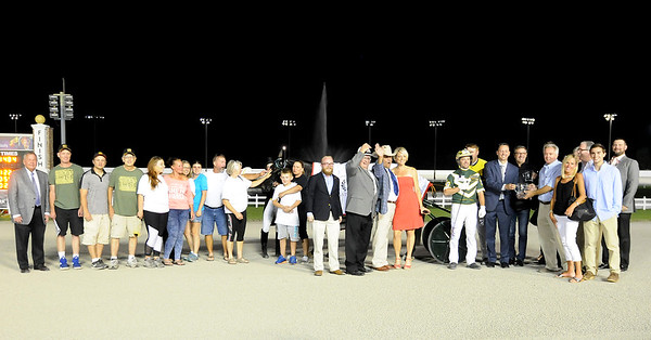 Don Knight   The Herald Bulletin<br /> The 25th running of the Dan Patch at Hoosier Park on Saturday.