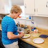 Don Knight | The Herald Bulletin<br /> Nancy Buckner prepares Virginia Close's lunch on Friday. A growing population of aging Americans choose to receive long-term care at home.