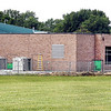 John P. Cleary | The Herald Bulletin<br /> An exterior view of the addition to the cafeteria at Tenth Street Elementary School.