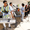 Don Knight | The Herald Bulletin<br /> Atown Collective performs Saturday at Soulfest. The band includes kids from the Anderson Township Trustee Youth Center. Soulfest was held over three days at Warren Miller Park.