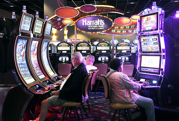 John P. Cleary | The Herald Bulletin<br /> Harrah's Hoosier Park Racing and Casino is planning to increase its workforce by more then 25% with the start of sports wagering and live dealers table games starting the first of the year.