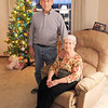 Willis and Noramae Ladd can count 31 wind turbines through the kitchen window on the west side of their house north of Elwood.