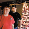 Robert Spaeth, center, got an early Christmas gift from his son Damon, 13, this past weekend as Robert passed out while choking behind the wheel and Damon grabbed the wheel and stopped the vehicle to save his dad.