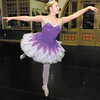 Sydney Sizemore practices her performance as the Sugar Plum Fairy on Wednesday at the Big Four Arts Depot as the Anderson Young Ballet prepares for their upcoming performance of the Nutcracker Ballet at the Paramount Theater on December 14th, 15th and 16th. Look for a story and more photos in Sunday's edition of The Herald Bulletin.
