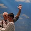 Pastor John Hannum baptizes Zac Miller, 15, at the New Hope Christian Church.