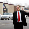 THB photo/John P. Cleary<br /> Jeff Roberts overlooks the area of the River Ridge Plaza.
