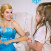 THB photo/John P. Cleary<br /> Winter Princess Kelli Oxley talks with Girl Scout Daisy Ashlyn Schlabach, 5, after she had her photo taken with the princess and her little brother during Winterfest activities at the Anderson Center for the Arts.
