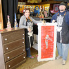 Don Knight / The Herald Bulletin<br /> From left, Heather Chandler-Robleto and Jason Crist are owners of What Workz in Anderson. What Workz has been open for three months but Crist and Chandler-Robleto want to celebrate with an open house noon to 2 p.m. Saturday.