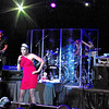 """The Pointer Sisters, Issa, Ruth and Anita, entertain the crowd in the Terrace Showroom at Hoosier Park by singing """"Automatic."""""""