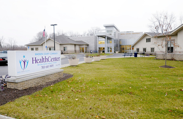 Don Knight / The Herald Bulletin<br /> Madison County Community Health Center on Ohio Avenue.