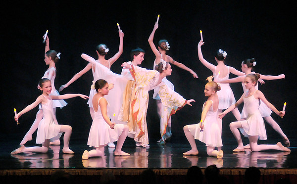 Don Knight / The Herald Bulletin<br /> The Anderson Young Ballet Theatre presented their annual production of the Nutcracker Ballet at the Paramount Theatre over the weekend.