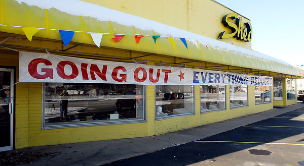 THB photo/John P. Cleary<br /> The Shed is going out of business after 41 years.