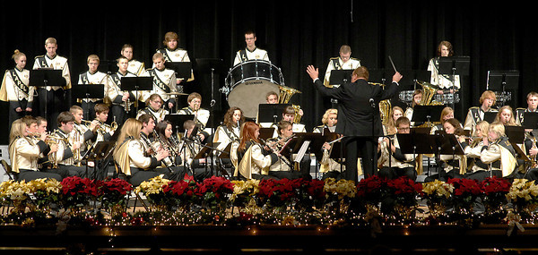 """THB photo/John P. Cleary<br /> The Lapel High School Music Department presented their annual holiday show, """"Celebrate Christmas."""""""