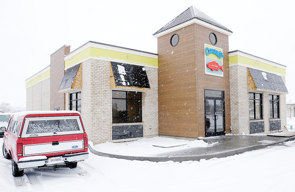 Don Knight / The Herald Bulletin<br /> Captain D's on Broadway is nearing completion. The restaurant is scheduled to reopen on January 13th.