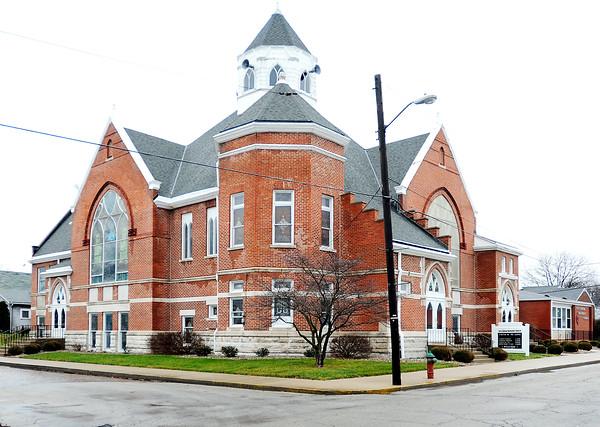 John P. Cleary   The Herald Bulletin<br /> Alexandria First United Methodist Church.