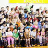 Don Knight | The Herald Bulletin<br /> Erskine Elementary students enjoy popcorn as they watch their girls basketball team face a team of teachers dressed as Santa's Elves on the last day before Winter break on Friday.