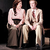 "Mark Maynard | for The Herald Bulletin<br /> Lizzy Doty and Andrew Davis play the young married couple, Della and Jim Young, in the Alexandria Commons Theatre's production of ""The Gift of the Magi."""