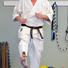John P. Cleary |  The Herald Bulletin<br /> T.A.S.K. Karate Studio holds a kick-a-thon.